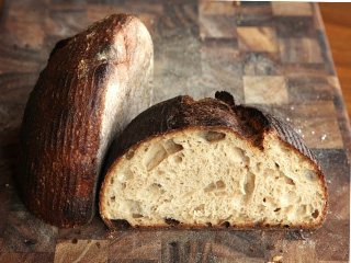 хлеб настоящий